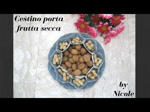 DIY Cucito creativo - Cestino porta frutta secca
