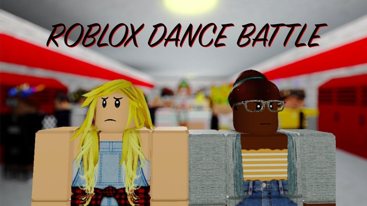 ROBLOX HIGH SCHOOL DANCE BATTLE - GEEKS VS COOL KIDS