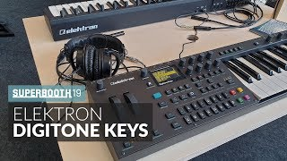 Elektron Digitone Keys @ Superbooth 2019