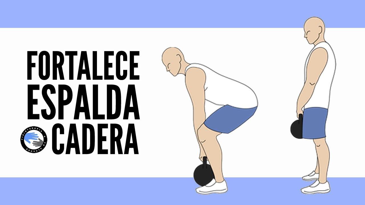 5 ejercicios para fortalecer la columna y las caderas