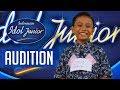 Gokil !! peserta satu ini membuat juri kesal karna gayanya. indonesian idol junior parody