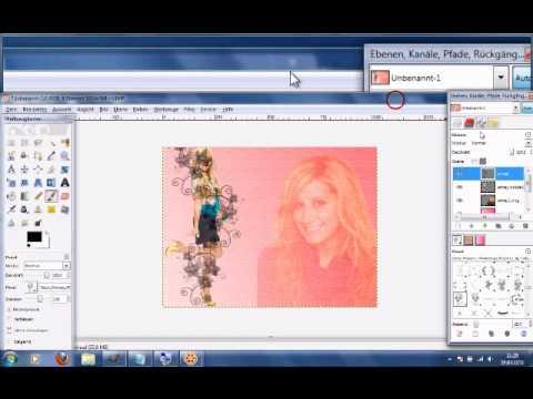Mit gimp ein sch nes wallpaper erstellen youtube - Wallpaper erstellen ...