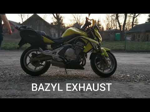 Tłumik Kawasaki ER6n Bazyl Exhaust Mały Przelot