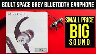 Boult Audio Space Grey Bluetooth Earphones Review (Myntra Exclusive): BIG Sound at Small Price?