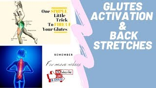 Fire up your Glutes and Back muscles!!