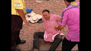 Bhide Falls From The Balcony?! | Taarak Mehta Ka Ooltah Chashmah | TMKOC Moments | तारक मेहता