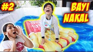 24 JAM JAGAIN BAYI LUCU NANGIS KEJER DI KOLAM RENANG !! Part 2 | Drama Parodi Lucu | CnX Adventurers