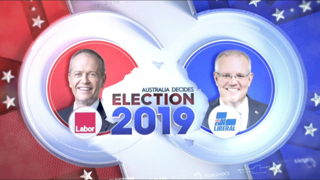 9 News Australia Federal Election 2019 Opening Titles and Augmented Reality Graphics