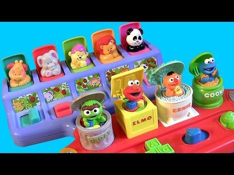 Sesame Street Pop Up Pals Surprise Toy Disney Baby