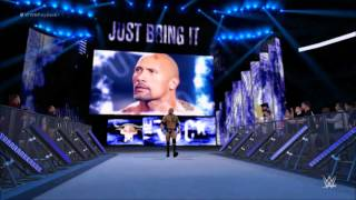 WWE2K16 The Rock Entrance PS4