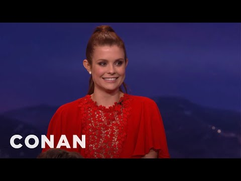 JoAnna Garcia Swisher Knows Exactly Where Her Daughter Was Conceived   CONAN on TBS
