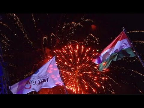 The European Youth Olympic Festival closes in spectacular style - no comment