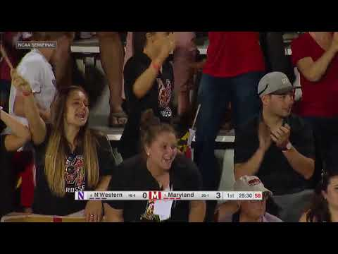#4 Northwestern Vs  #1 Maryland  (Semifinal #1) | NCAA Women's Lacrosse Championship 2019