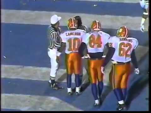 1991 Clemson vs North Carolina Football Game