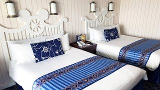 Newport Bay Hotel Room Tour at Disneyland Paris Resort 2018 - Room 6231, Compass Club Level