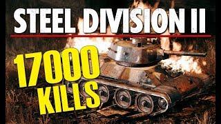 17000 KILLS! Steel Division 2 BETA Conquest Gameplay (Orsha, Very Hard AI)