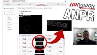 Hikvision ANPR Camera Demonstration