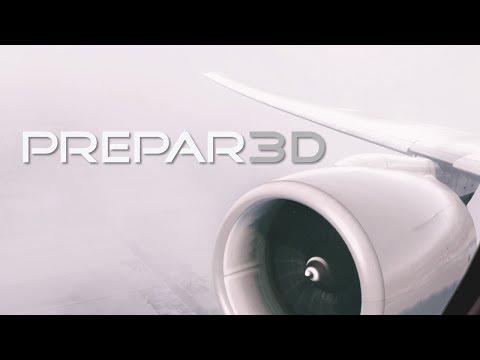 Prepar3d Takeoff From Amsterdam Schiphol