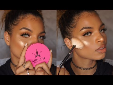 Jeffree Star Skin Frost UNBOXING + Demo   Illestbreed