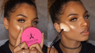 jeffree star skin frost unboxing demo   illestbreed