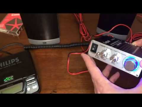 Lepai LP-2020A+ Amplifier Review Cheap Amp for a Turntable