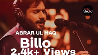 Coke Studio Song Billo By Abrar ul Haq Removed Why Explained