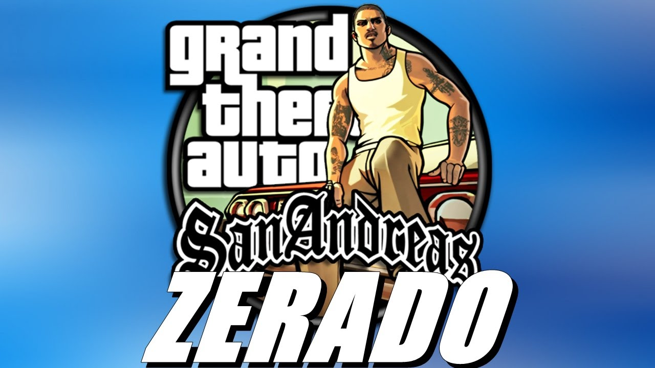 save game gta san andreas zerado