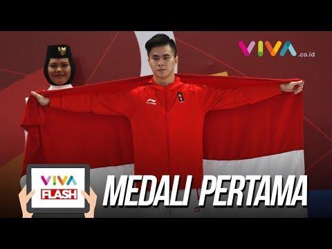 Tangis Marvelo Rebut Medali Pertama Indonesia Di Asian Games 2018