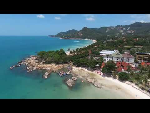 Koh Samui, Chaweng Beach, Drone