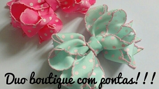 Duo Boutique com pontas