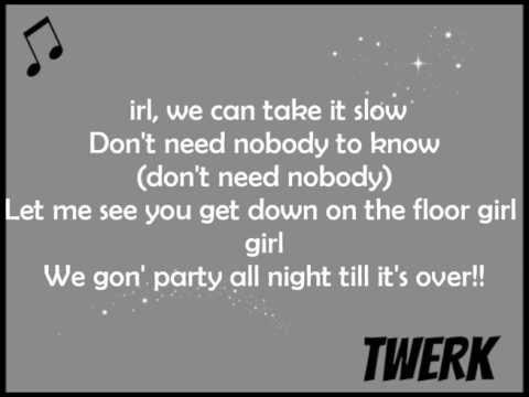 Lil Twist - Twerk (Official Lyrics) ft, Miley Cyrus & Justin Bieber