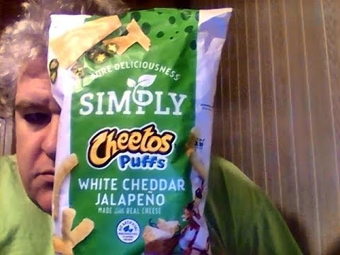 Simply White Jalapeno Cheddar Cheetos Puffs