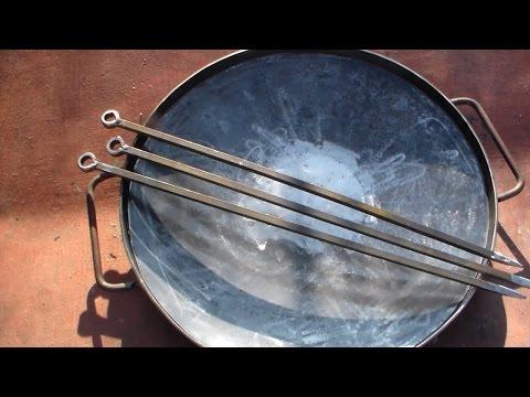 Сковорода из дисковой бороны