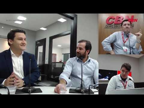 Entrevista CBN Campo Grande: Guilherme Burger e André Pauletto