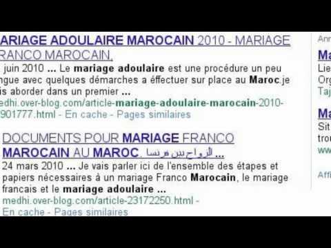 mariage franco marocain procedure et documents - Mariage Francais Etranger Documents