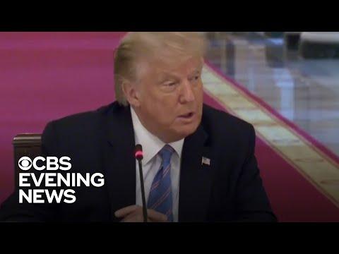 Trump downplays severity of coronavirus as cases spike across the U.S.