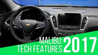 2017 Chevrolet Malibu: Tech Features