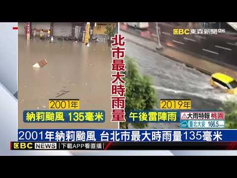 7/22最大時雨量136.5毫米 氣象局:今年最大午後雷陣雨