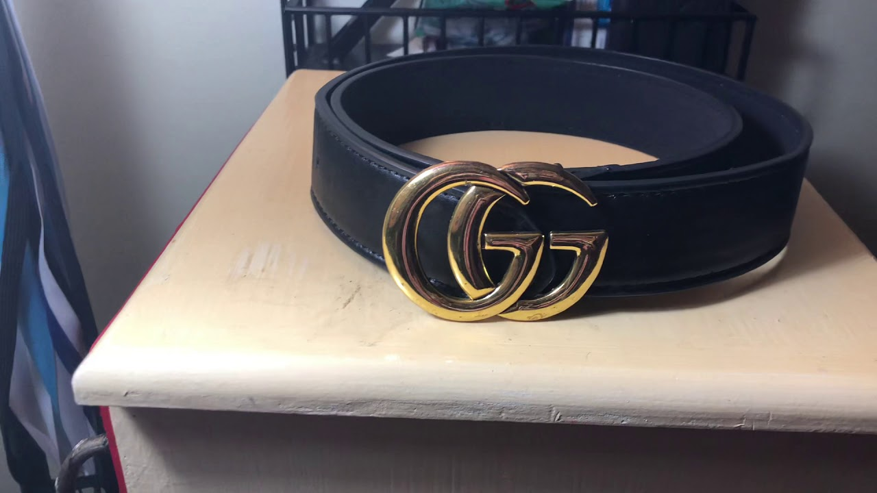 d59e73bc6556  5 Gucci Belt (ioffer) - YouTube