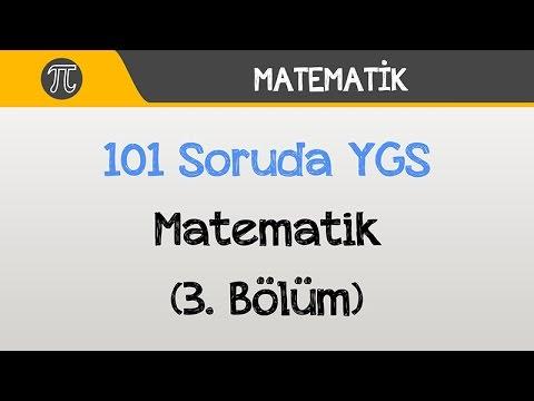 101 Soruda YGS Matematik (3. Bölüm) | Matematik | Hocalara Geldik