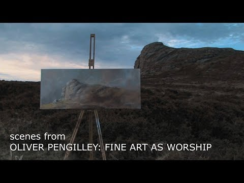 Scenes From 'Oliver Pengilley: Fine Art As Worship' Documentary