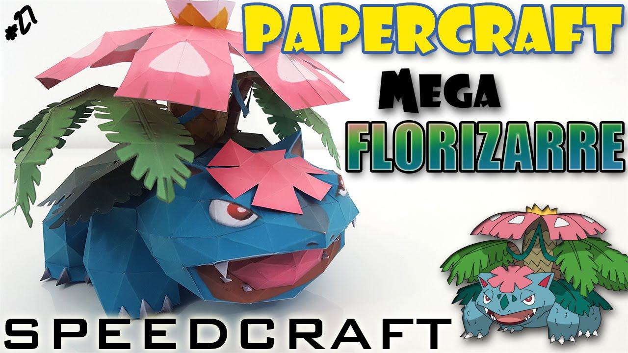 Papercraft Papercraft - MEGA Florizarre - Le SpeedCraft de la réalisation !