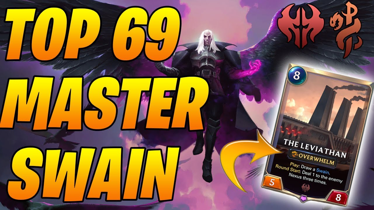 Swain TF is so BROKEN Opponent MALDS Top 69 Swain TF  | Legends of Runeterra | Controltheboard