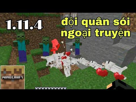 Sinh Tồn Minecraft Trial 1.11.4 | Chơi Lại Map 1.11.4 Đội Quân Sói Survival!!!