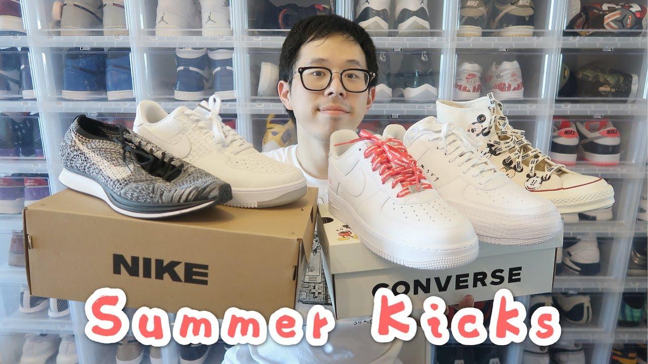 夏天不知道穿什么鞋?试试这5双~ Converse|NIKE|AF1|Flyknit