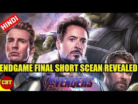 Avengers Endgame final scean may have been revealed explained in hindi