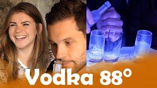 Vodka 37,5% VS Vodka 88 % alc. avec Nad Rich'Hard