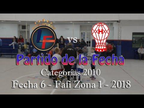 Lafuente 4 - 2 Huracán - Cat 2010 - Fecha 6 - FAFI Zona 1 - 2018 (Baby Fútbol)