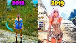 Evolution of Black Desert Online - From 2012 to 2019