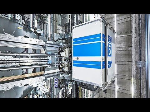 What Are Horizontal Elevators? | The B1M
